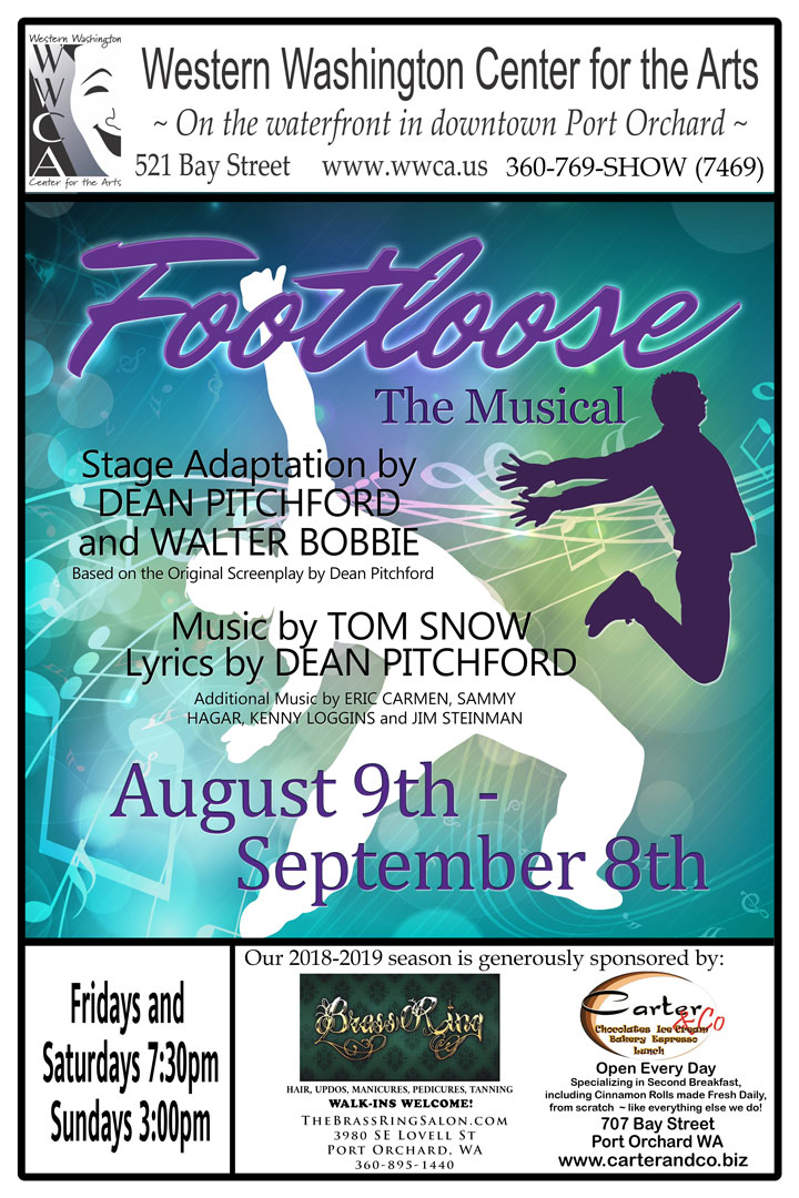 Footloose Musical Poster